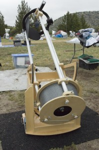 A telescope entry