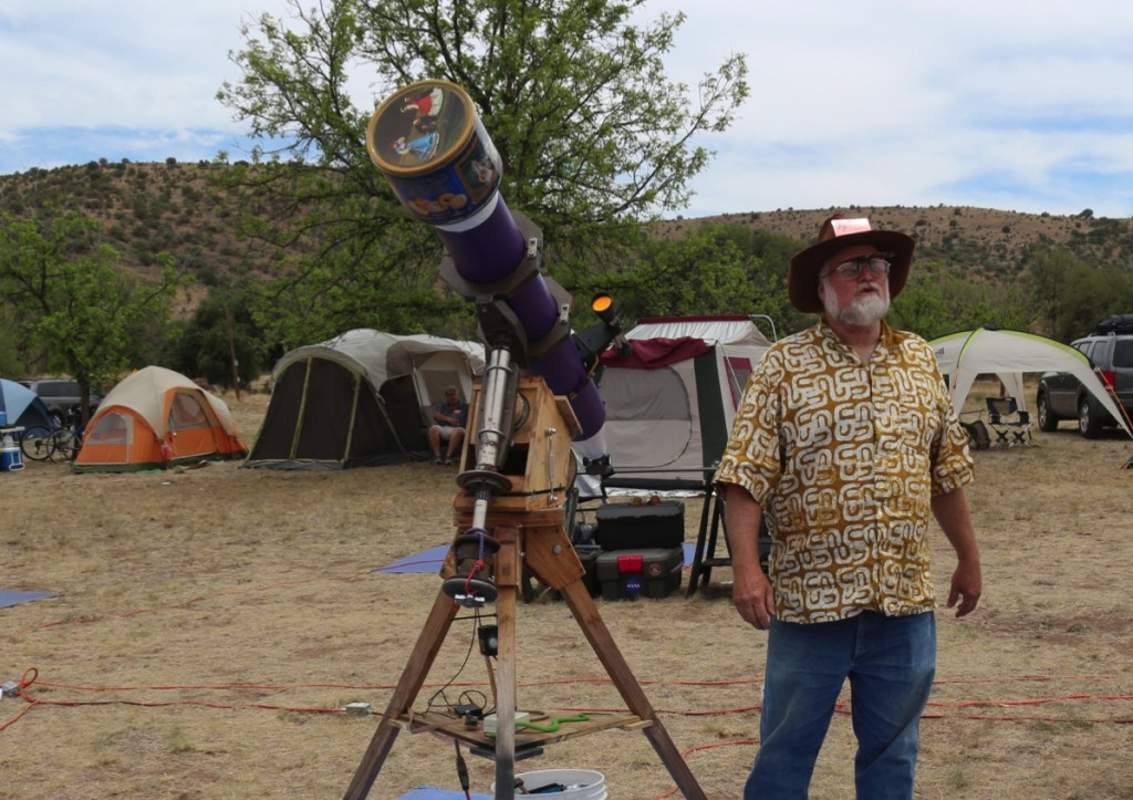 "Timothy Cowden - 6"" f/10 Refractor & Mount"